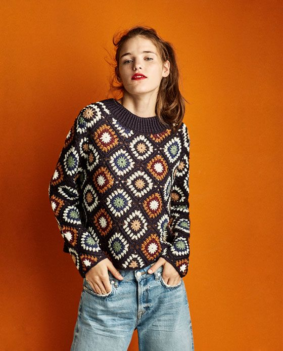 SPECIAL EDITION CROCHET SWEATER
