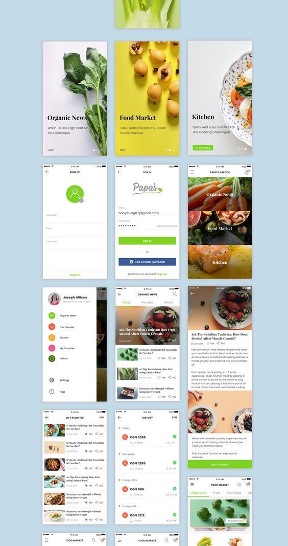 This is our daily android app design inspiration article ...