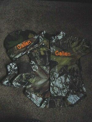 Personalized Realtree Camo Camouflage 3PC Baby Infant ...