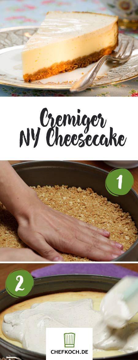 New York Cheesecake: cremiger Käsekuchen | Chefkoch.de Video