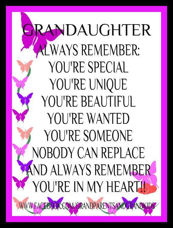 Beautiful Granddaughter Quotes QuotesGram by quotesgram