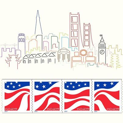 Forever Stamp Red White And Blue Stamps Have Been Issued Recently With Global The US Postal Service