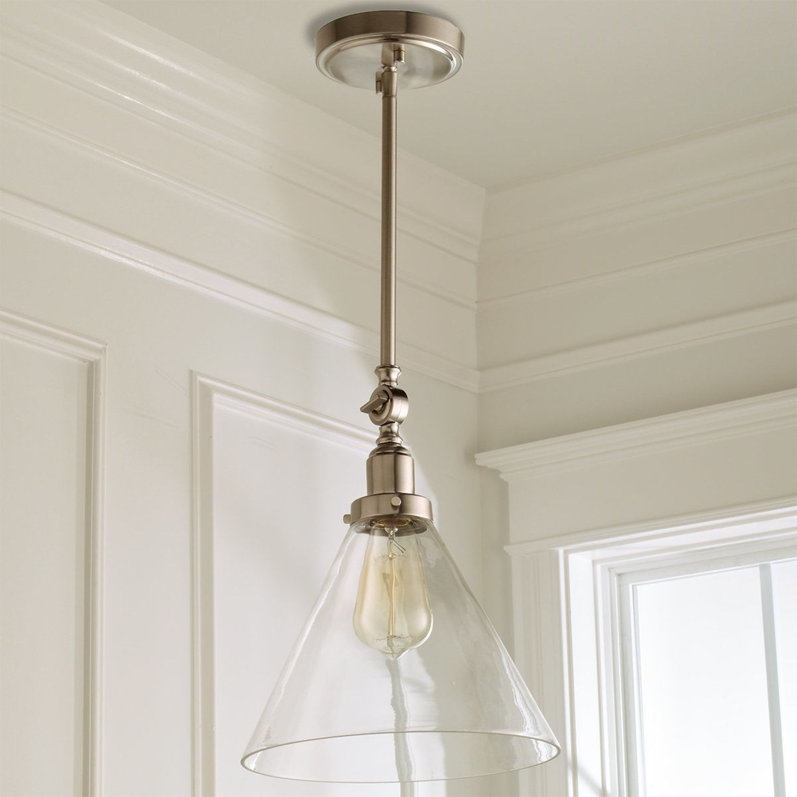 Industrial Triangle Shade Pendant Glass Shade Pendant Light Glass Pendant Shades Pendant Light Shades Glass shades for hanging lights