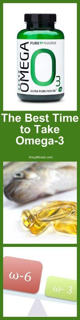 The Best Time To Take Omega 3 Fatty Acids Health Healthfitness