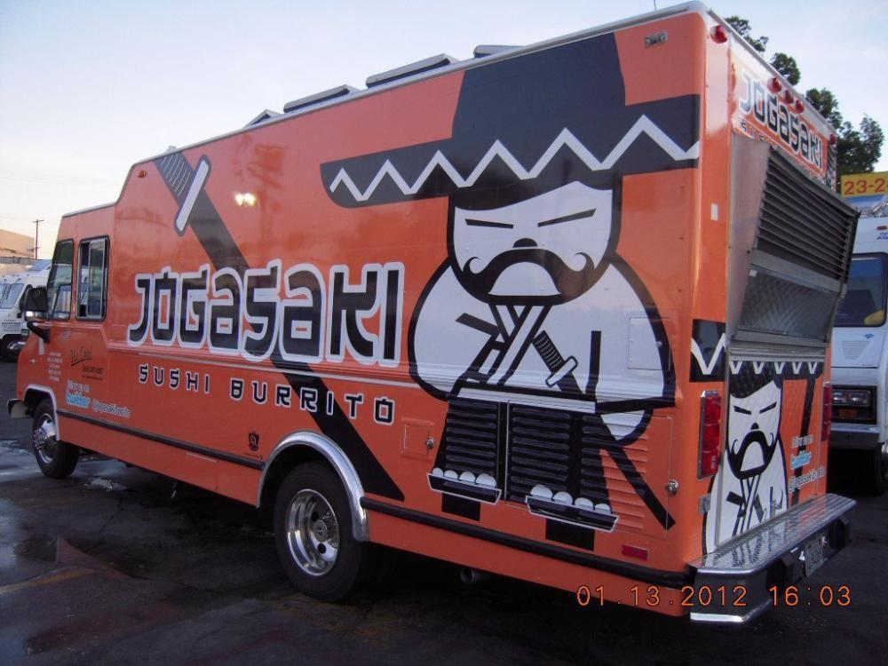 Jogasaki Sushi Burrito Los Angeles Food Trucks Street Food