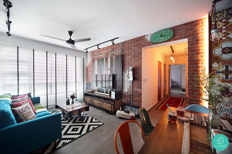 Linear Space Concepts Yishun Industrial Eclectic Living Room