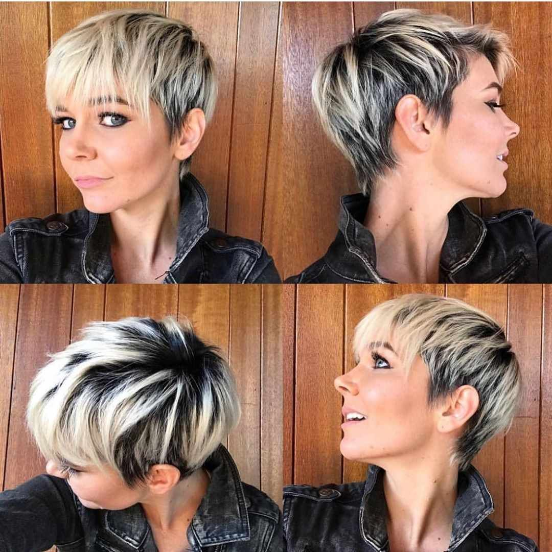 Pixie Haircuts For Women 2019 And 2020 Trends Short Hair With Bangs Short Hair Styles Short Hair Styles Pixie