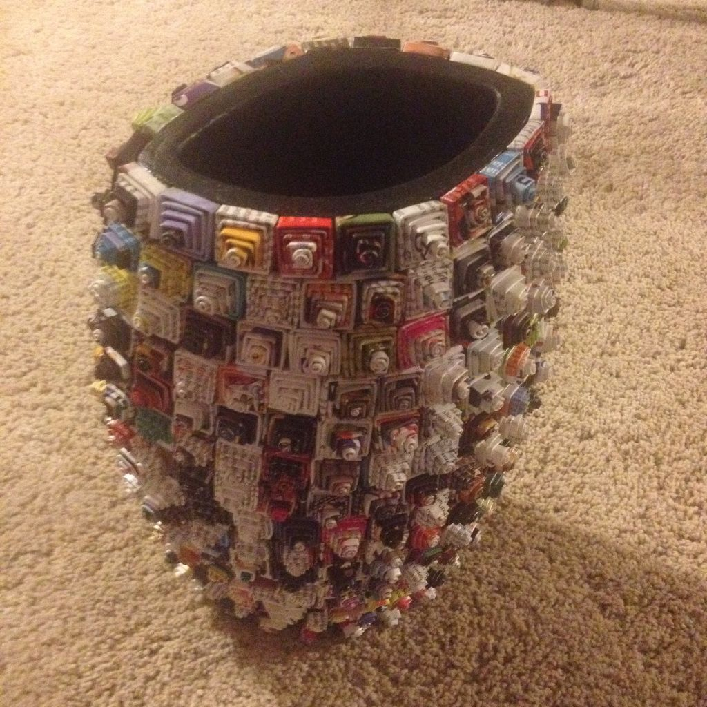 Fair Trade recycling woonaccessoires. Vaas paper art