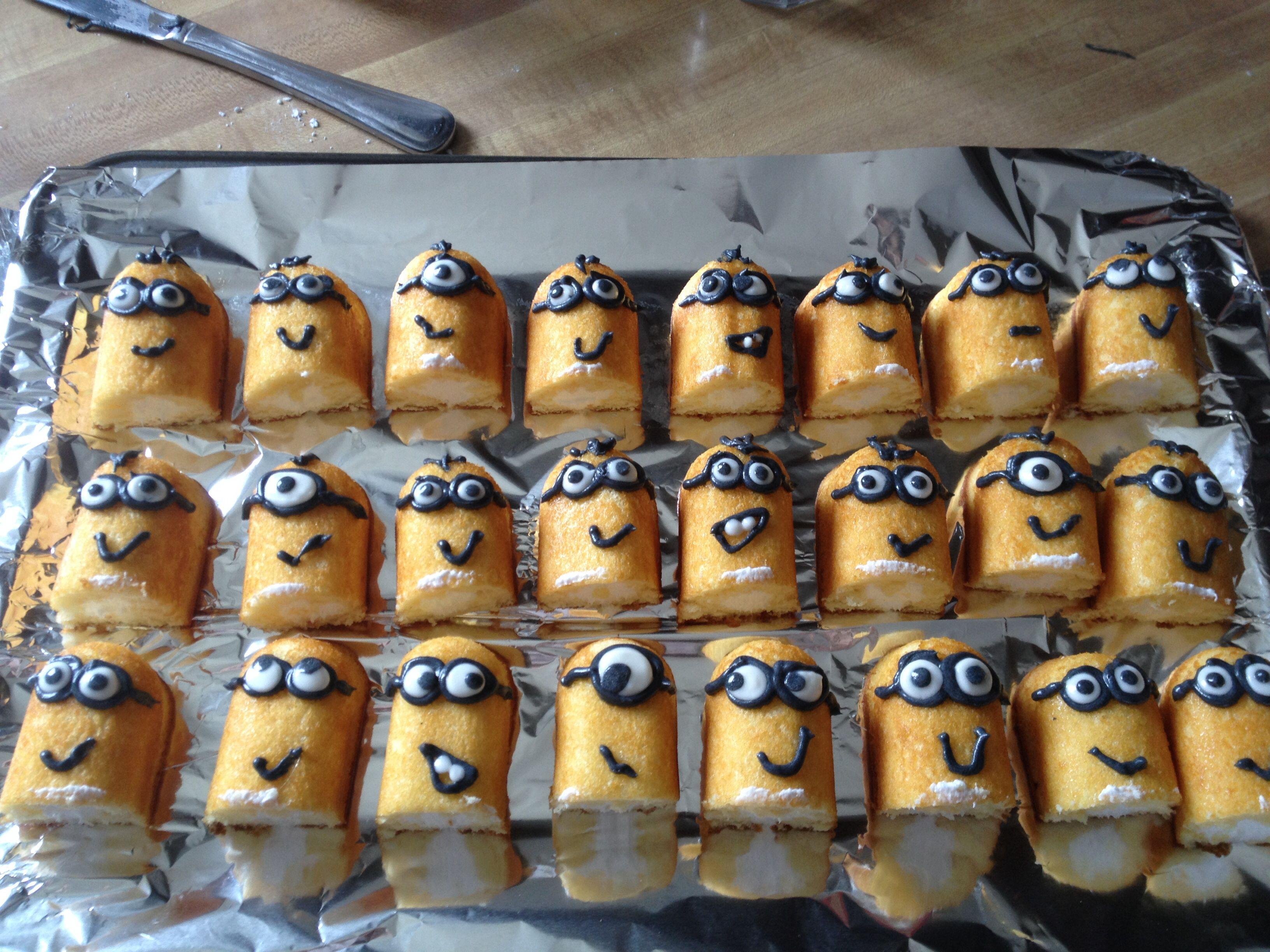 Minion Cupcakes for Jett