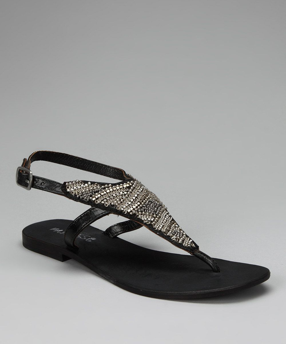 Look what I found on #zulily! Matisse Black Dina Sandal by Matisse #zulilyfinds