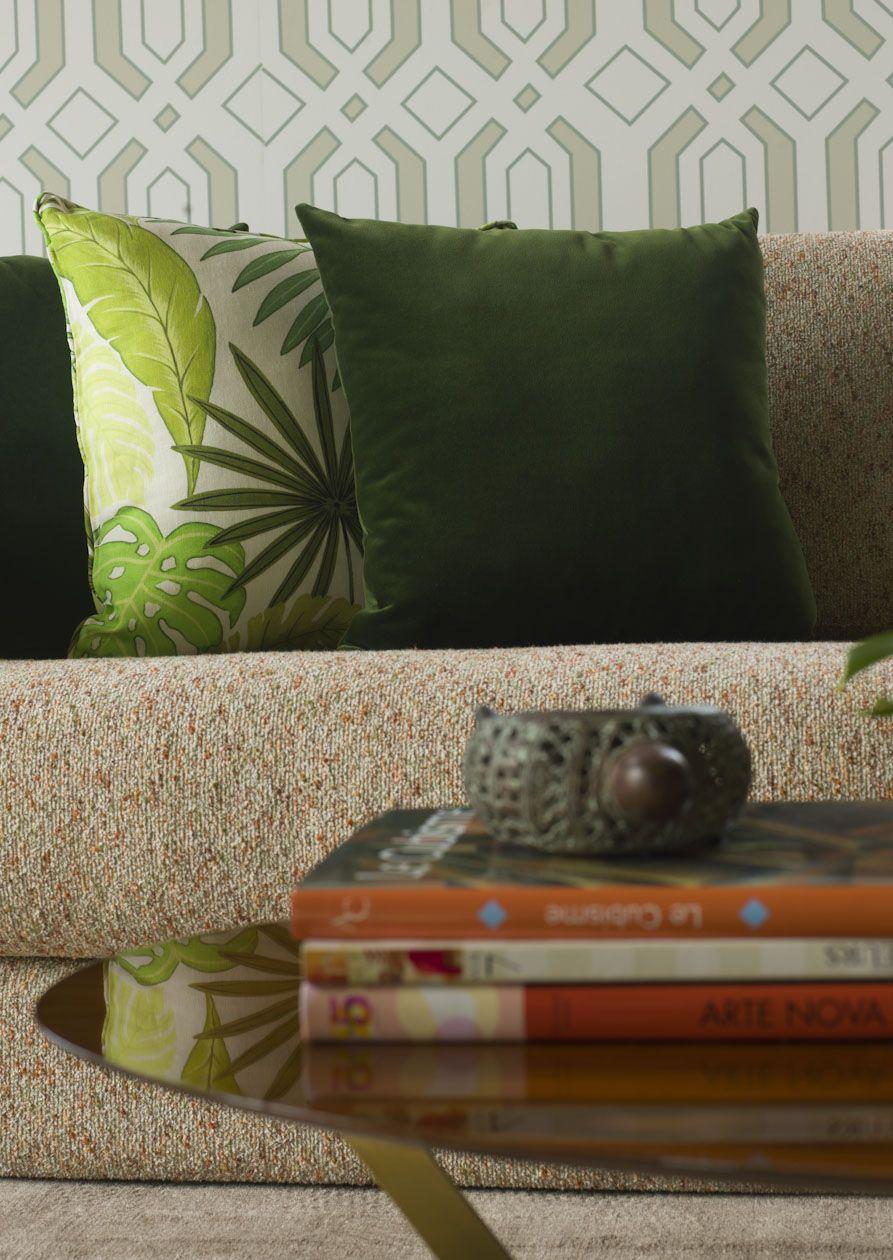 AMAZON FOREST   ALDECO   TROPICAL VIBES   Pinterest   Fabric Sofa