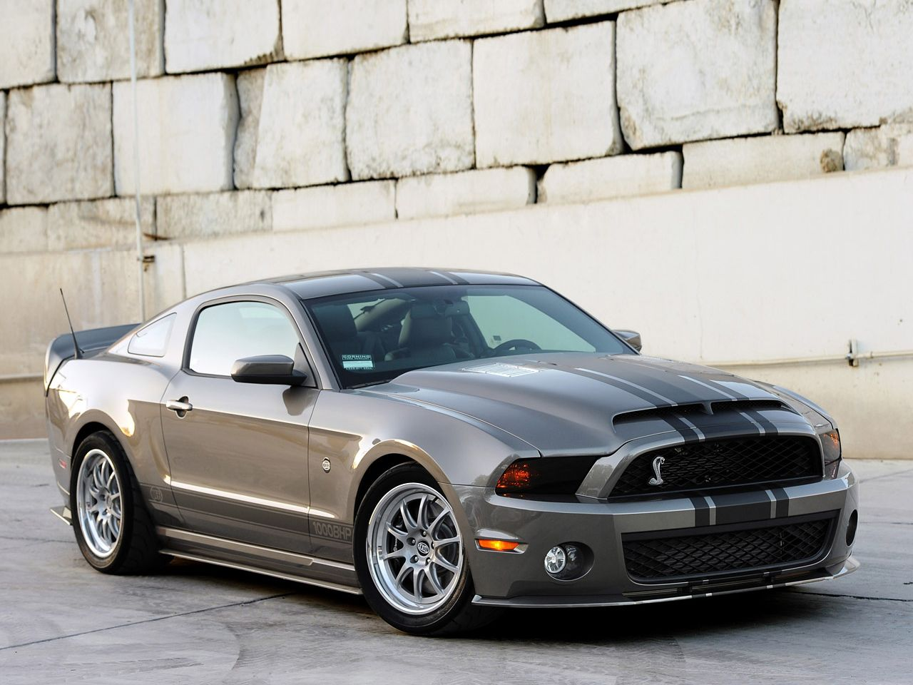 This Ford Mustang Cobra is a monster!!!