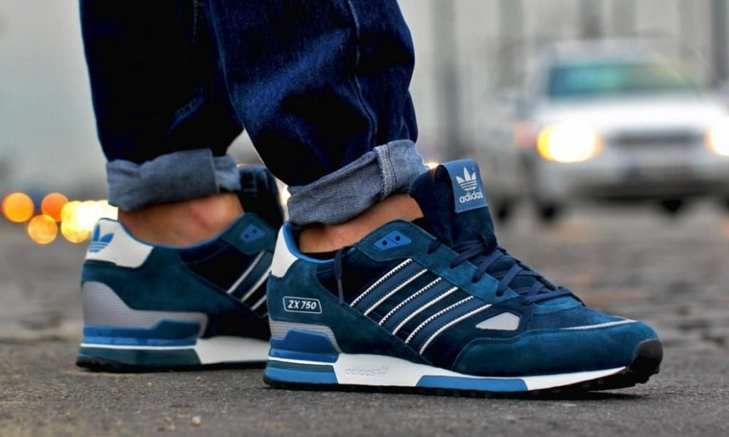 adidas Originals ZX 750: Dark Indigo
