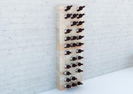 Shelving modules | Storage-Shelving | CRAFTWAND® - wine rack. Check it out on Architonic