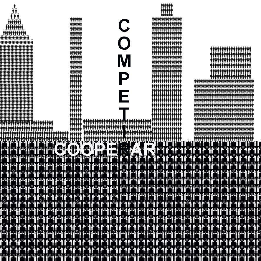 cooperar, competir