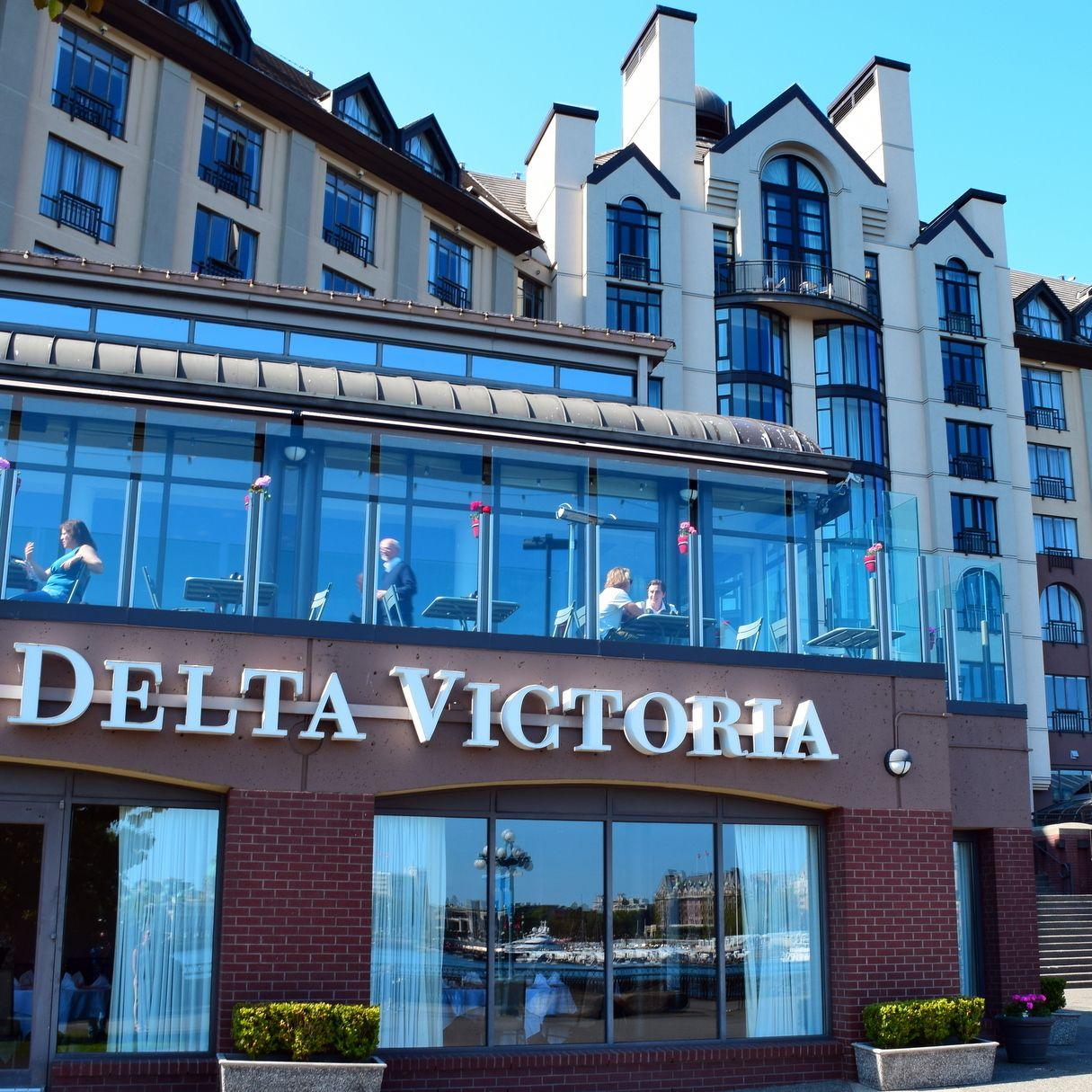 For the Modern Traveler to Victoria B.C. Delta Victoria