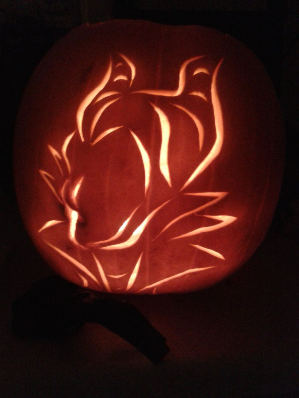 My new design as pumpkin carving this year gotta