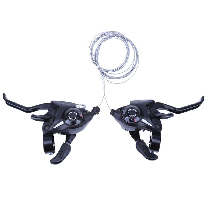 24 Speed Bicycle Shifter Brake Conjoined Derailleurs Bike Road Levers