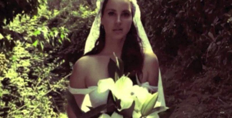Lana Del Rey Wears Wedding Dress for Ultraviolence Video Lana