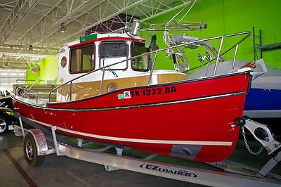 2015 Ranger Tugs 21EC 21'' Tug Boat, Cabin, Diesel Engine