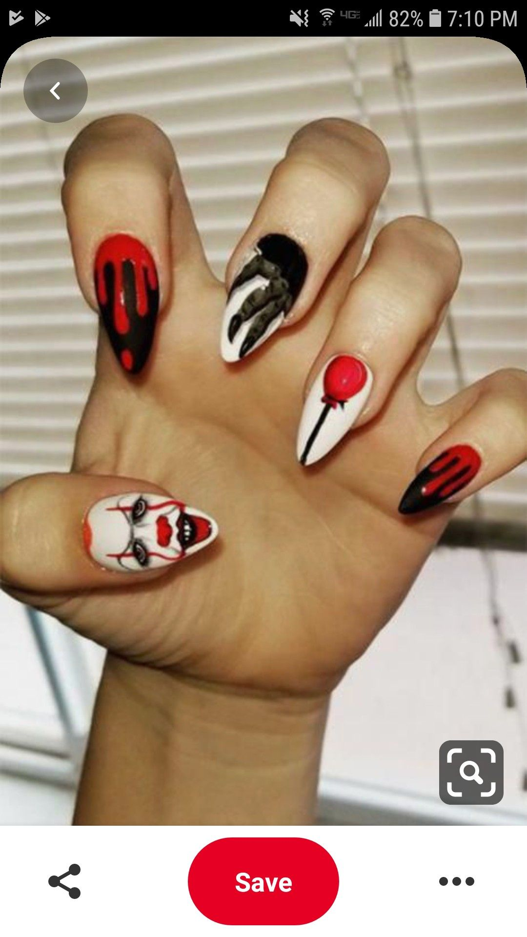 Pin by Trầm Lê on haloween | Halloween nail designs ...