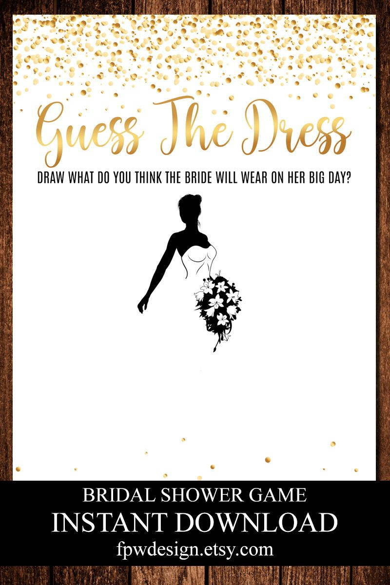 Guess The Dress Hen Party Bridal Guess Dress Hen Night Etsy In 2020 Bridal Shower Games Gold Bridal Showers Bridal Shower Games Funny