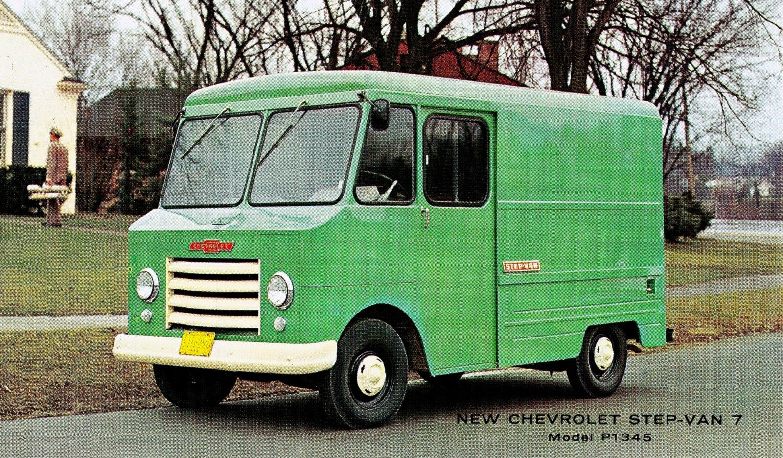 Chevrolet Step-Van 7 Model P1345 (1961) | Snaxtime | *Mobile Studio