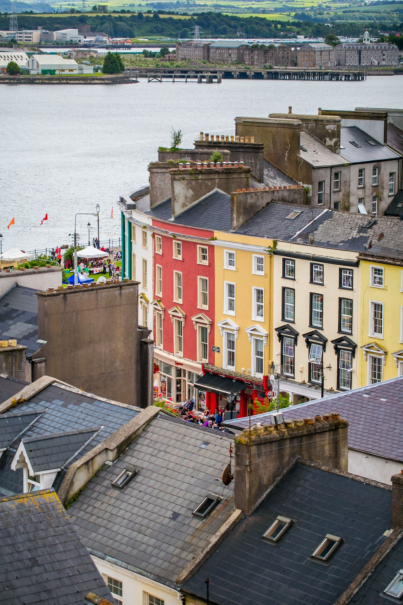 Cobh County Cork Ireland Explore Cork County S Charming Coastal Town Cobh The Last Port For The Titanic Wh County Cork Ireland County Cork Cork Ireland
