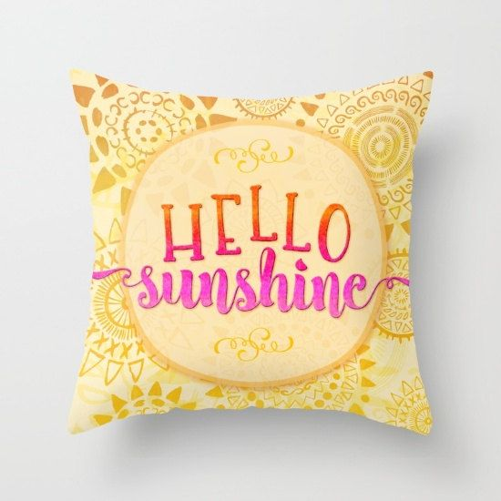 decor designs pillows yellow fk d decorative pillow round