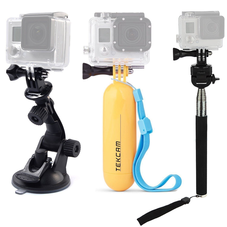 Compatible with EE 4GEE Action Cam DURAGADGET Action Camera Helmet Mount