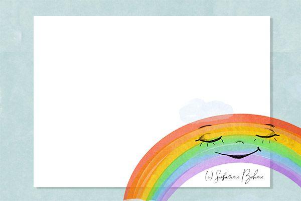annegret einhorn und der regenbogen lerngeschichte für