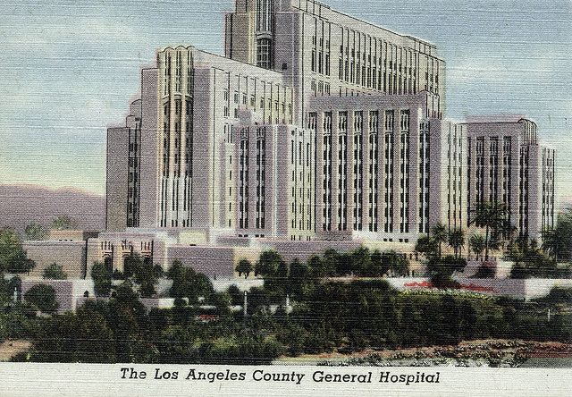 The Los Angeles County General Hospital Los Angeles County Hospital General Hospital