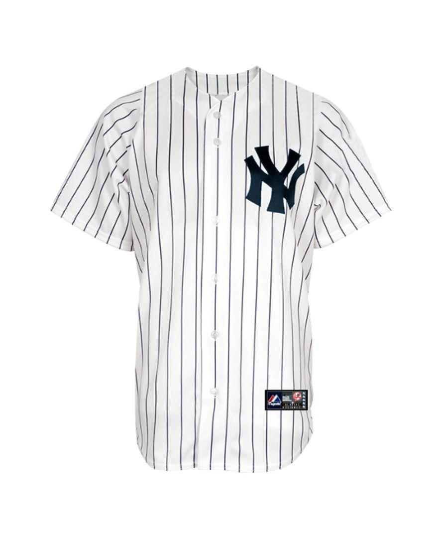 Majestic Boys  New York Yankees Blank Replica Jersey  d99fe7aebb8