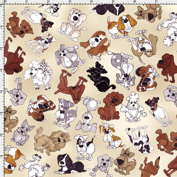 Rainbow Calico Cats Toss Black Loralie Designs Fabric Cotton YARD