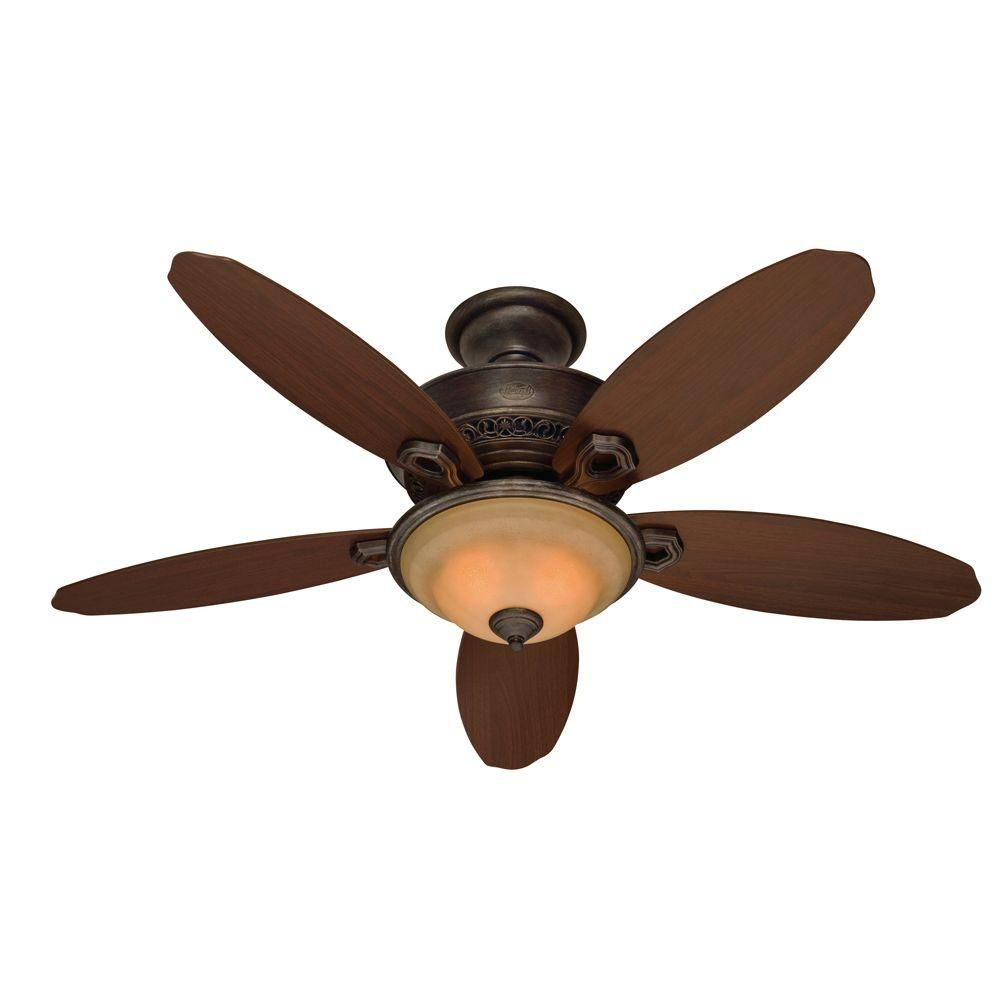 Roman Bronze Ceiling Fan 21315 The Home Depot