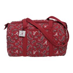 3dd56186b78 Alabama Crimson Tide Paisley Quilted Duffle Bag - Roll Tide District ...