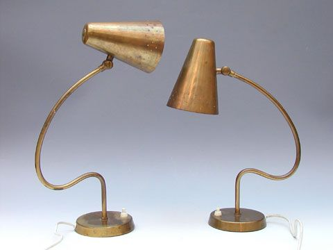 Table lamps by Bergboms Sweden 1950's | Lamp, Table lamp