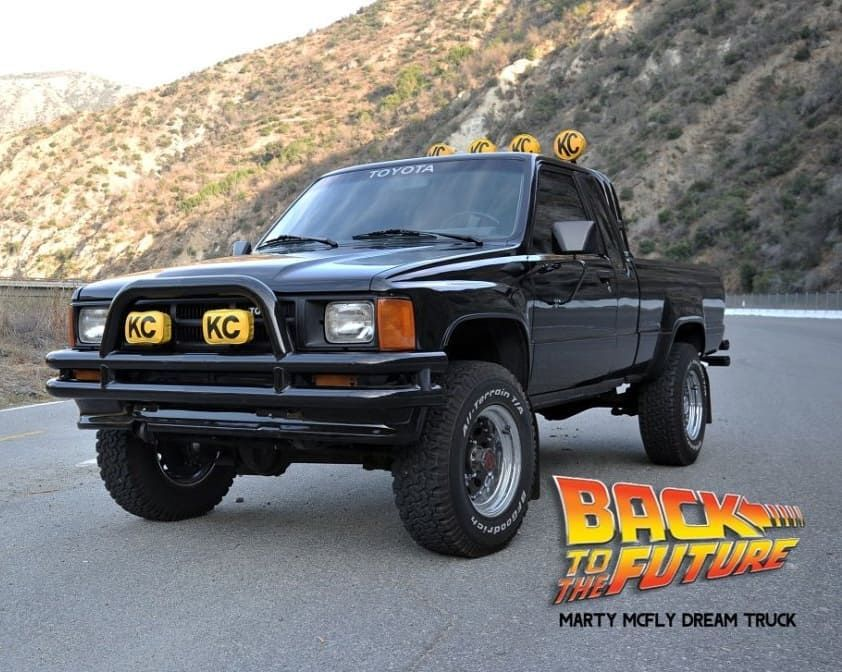 Marty Mcfly Truck >> Nicholas Gomez On Instagram Toyota Could Easily Make A