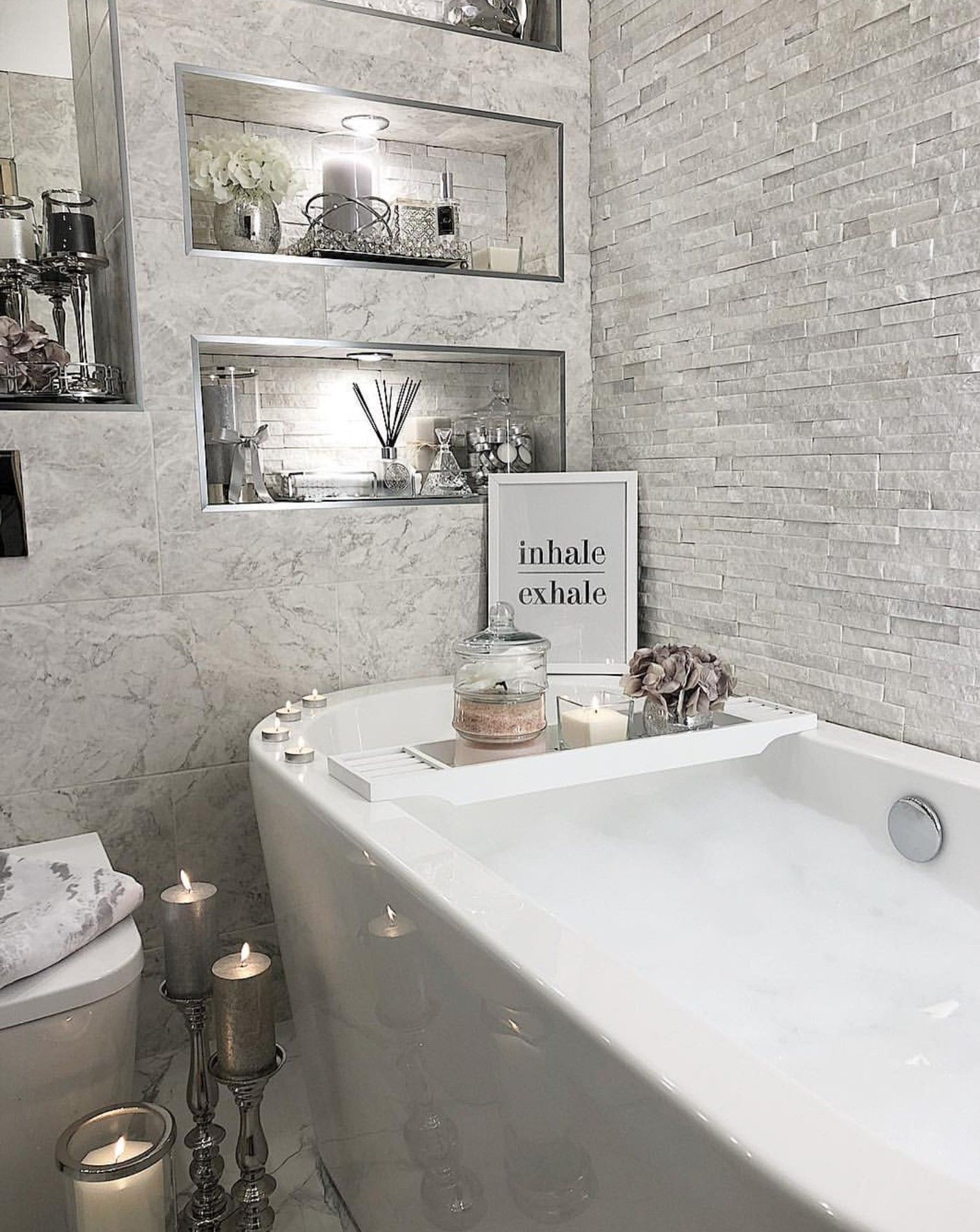 Grey And White Bathroom Inspo From Instagram Room Ekkor