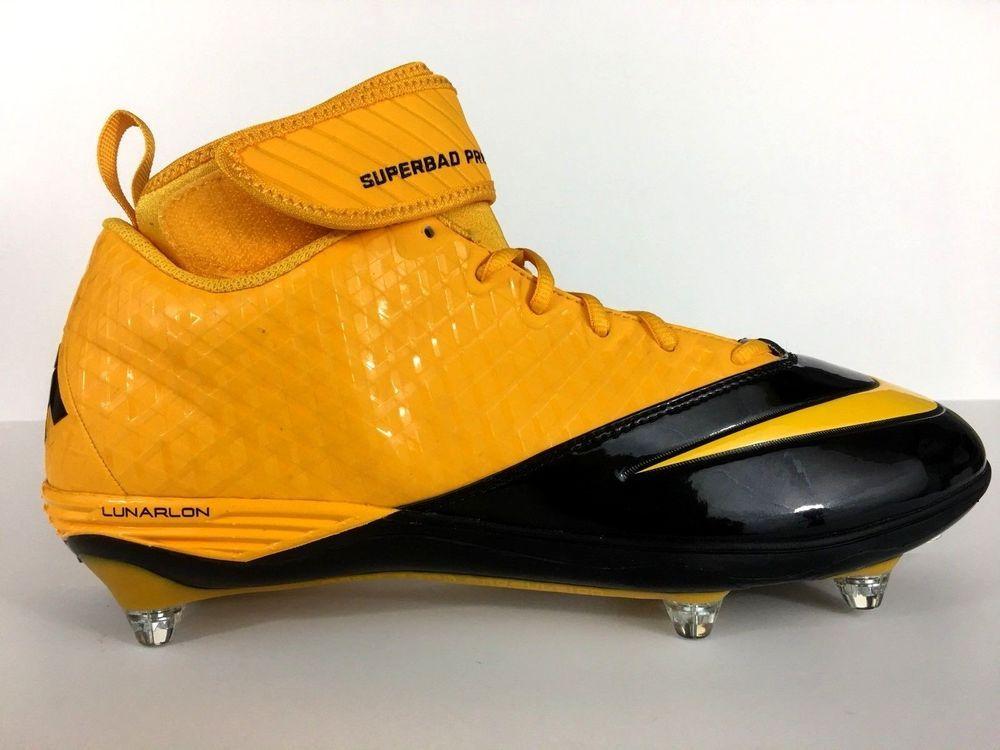 e137fef1085c6 Nike Lunarlon Superbad Pro Mid TD Mens Football Cleats US 11.5 EUR ...