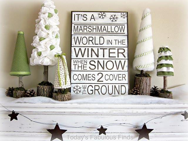 Marshmellow World sign