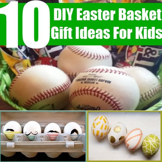 10 diy easter basket gift ideas for kids diy pinterest basket 10 diy easter basket gift ideas for kids negle Choice Image