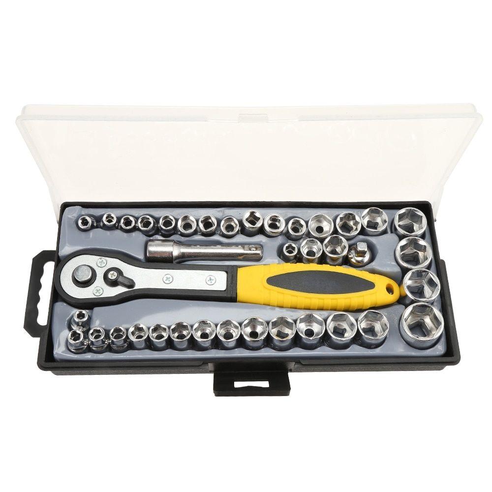 Simple Car Maintenance Tools 40 pcs Set  Price: $ 28.95 & FREE Shipping