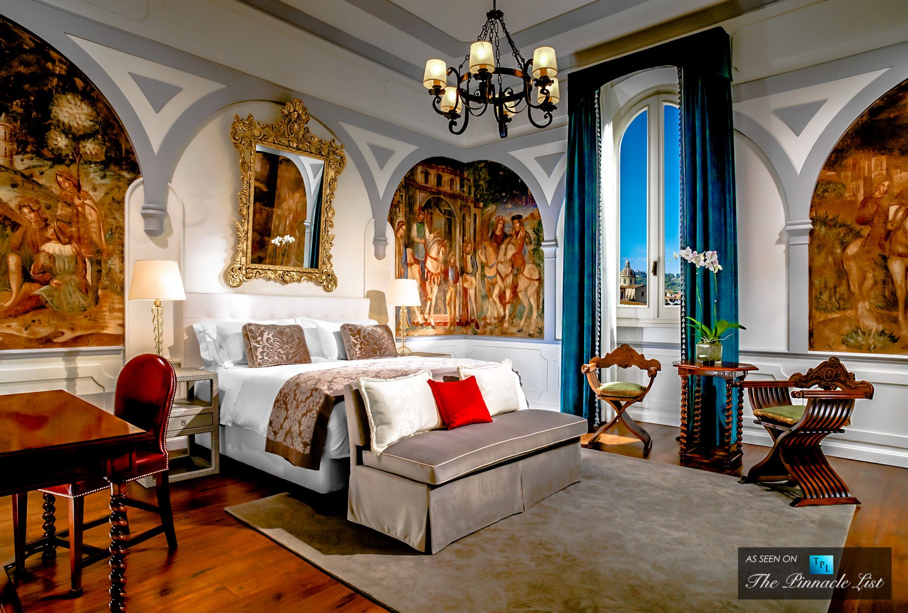 Wall Art Hotel Florence Italy | 2018 World's Best Hotels