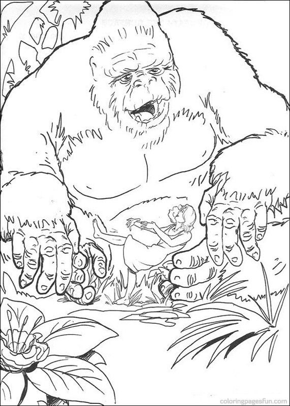 King Kong Coloring Pages 10 Coloring Pages Coloring Pictures