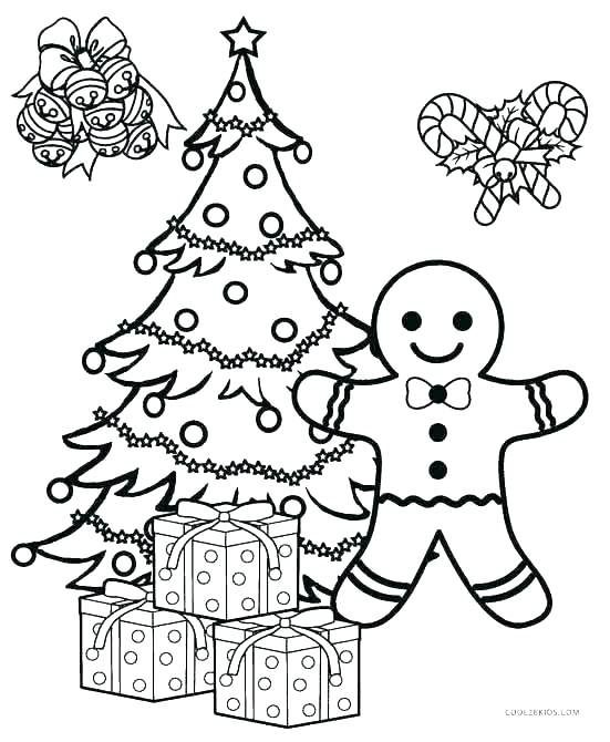 coloring pages christmas ornaments printable tree