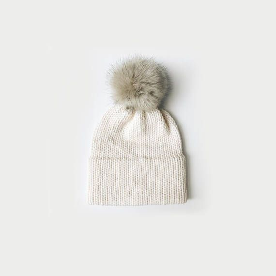 KNITTING PATTERN ⨯ Double Brim Hat, Slouchy Hat, Knit Beanie ⨯ The ...