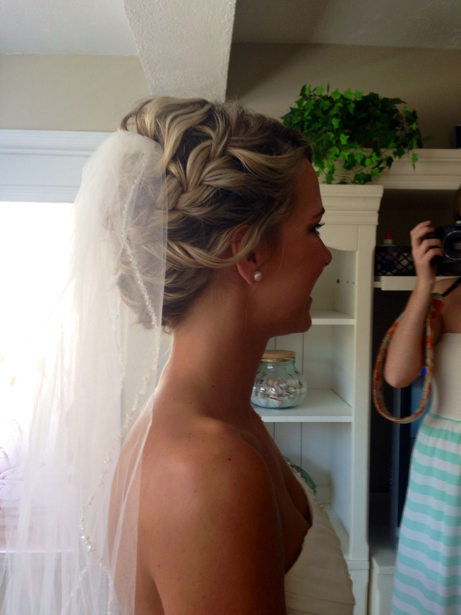 bridal updo by jamie cowart capello salon greenville sc