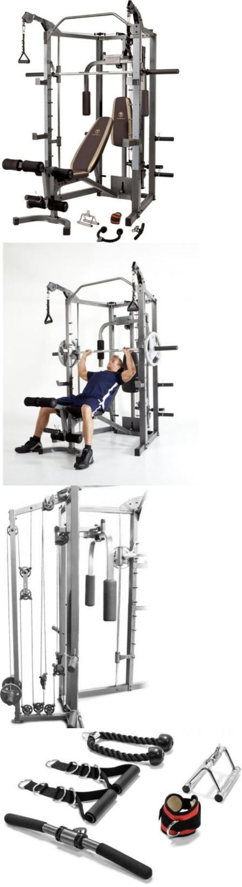 Home Gyms 158923: Gym Home Exercise Machine Weight Workout Equipment ...