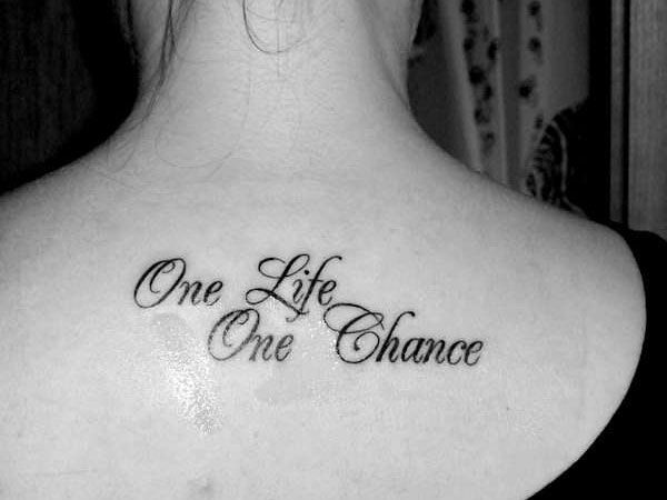 GOOD QUOTES FOR TATTOOS ABOUT LIFE Image Quotes At Relatably.com
